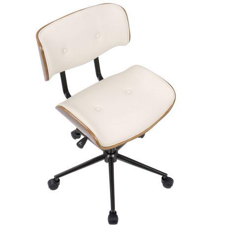 Chaise de bureau moderne mi si cle ajustable de lumisource - Chaise de bureau moderne ...