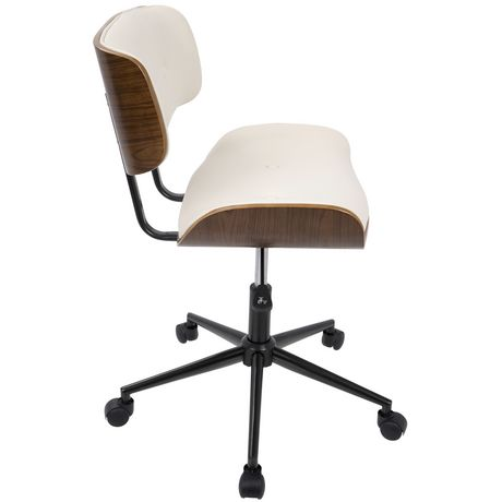 Chaise de bureau moderne mi si cle ajustable de lumisource for Chaise de bureau moderne
