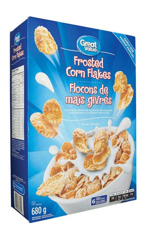 Great Value Family Size Frosted Corn Flakes - image 2 of 3