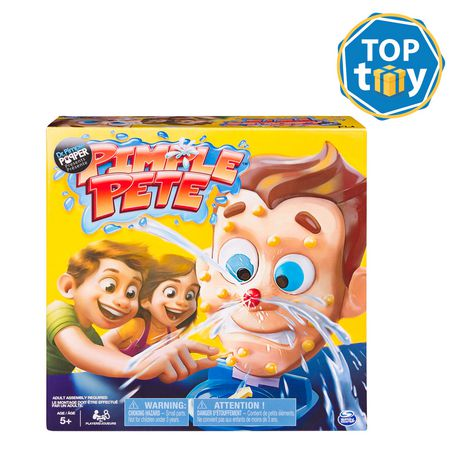 Pimple Pete Game Presented by Dr  Pimple Popper, Explosive Family Game for  Kids Aged 5 and Up