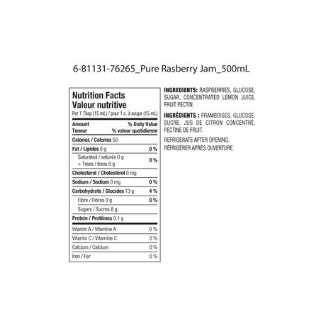 Great Value Pure Raspberry Jam - image 2 of 2