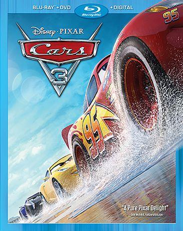 Cars 3 (Blu-ray + DVD + Digital HD) - image 1 de 1