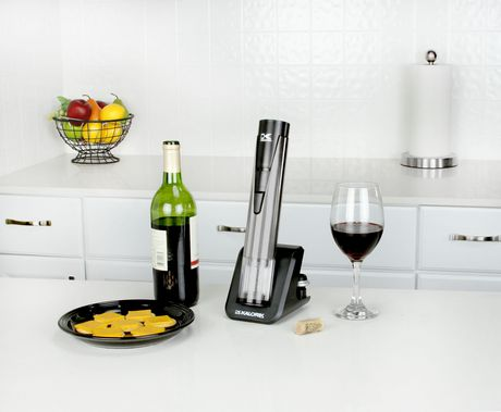 Kalorik 2-in-1 Wine Opener and Preserver, Stainless Steel - image 2 of 8