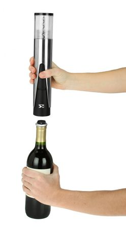 Kalorik 2-in-1 Wine Opener and Preserver, Stainless Steel - image 3 of 8