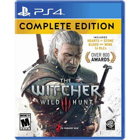 The Witcher 3: Wild Hunt Complete Edition (PS4) - image 1 of 1