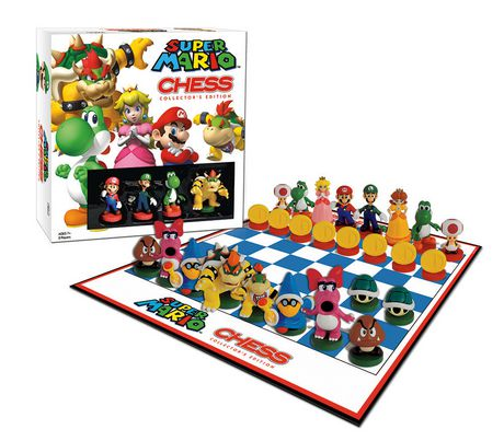 Super Mario Chess Board Game - English - image 2 of 2