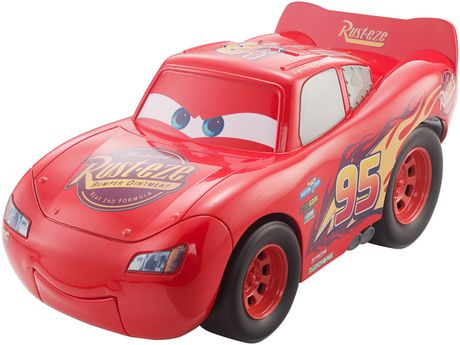 disney pixar cars 3 funny talkers lightning mcqueen vehicle walmart canada. Black Bedroom Furniture Sets. Home Design Ideas