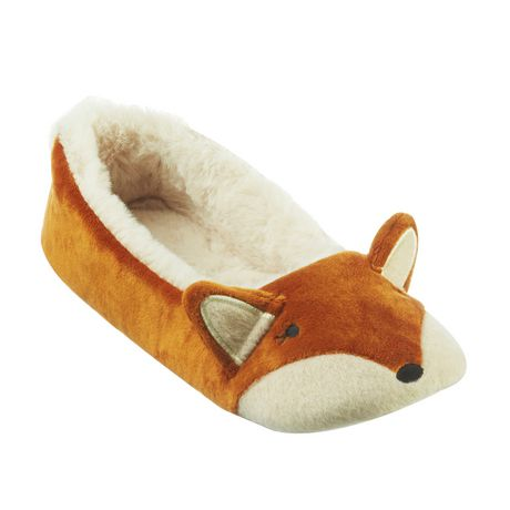 c93ff6a736f8 George Women s Fox Slippers - image 1 of 1 ...