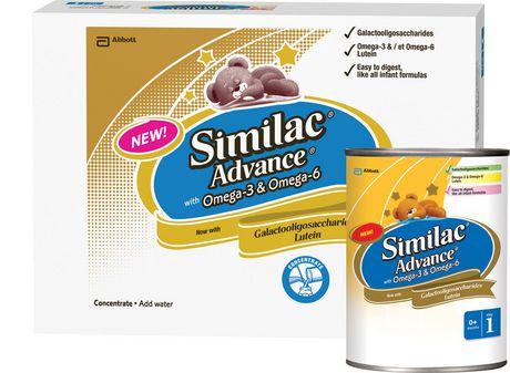 Similac Advance With Omega 3 Amp Omega 6 Walmart Ca
