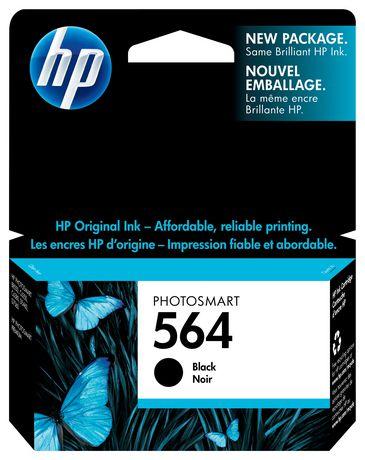 HP 564 Black Original Ink Cartridge (CB316WN) - image 1 of 9