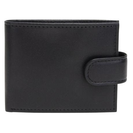 R70 Men's Tab Genuine Slimfold Black Wallet - image 1 of 6