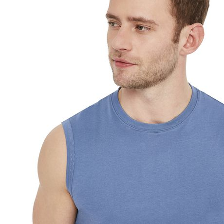 George Men's Jersey Muscle Top - image 4 of 6