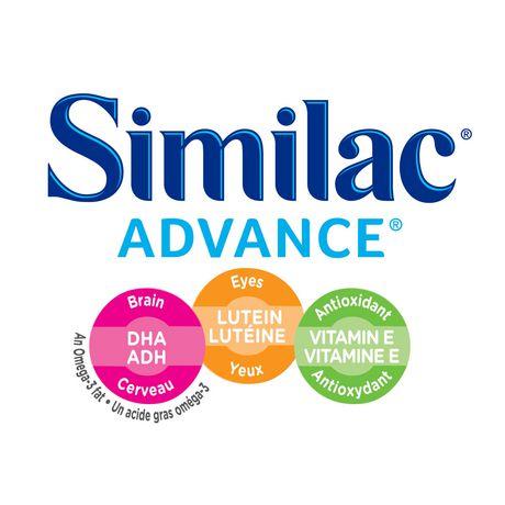 Similac Advance Step 1 Baby Formula Powder + DHA, Lutein & Vtmn E, 658 g - image 3 of 9