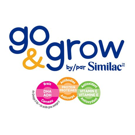 Go & Grow by Similac Step 3 Ready-To-Use Toddler Formula, 6 x 235 mL, Vanilla Flavour - image 3 of 7