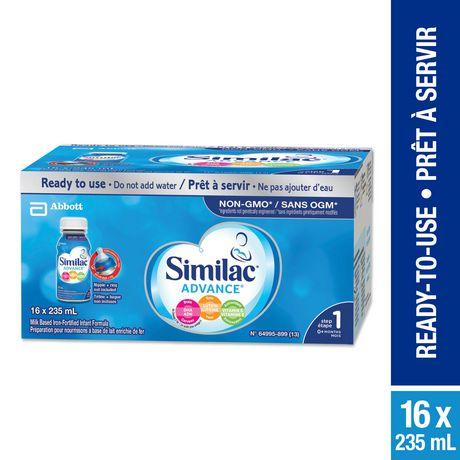 Similac Advance Step 1 Ready-To-Use Baby Formula - image 1 of 9