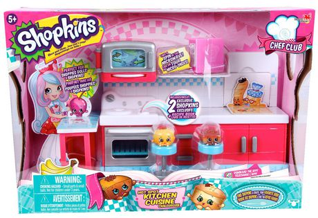 Shopkins Season 6 Chef Club Hot Spot Kitchen Playset Walmart Canada