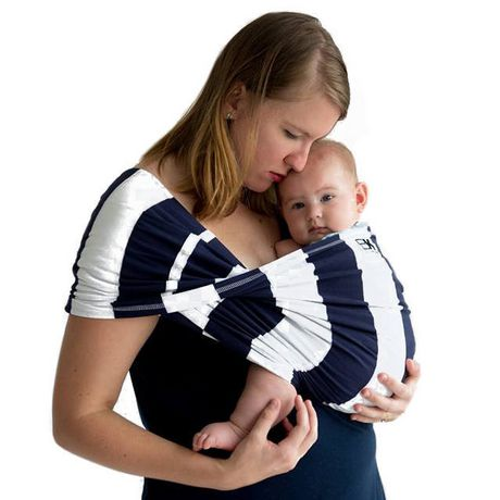 Baby K'Tan Navy Stripes - image 1 of 3