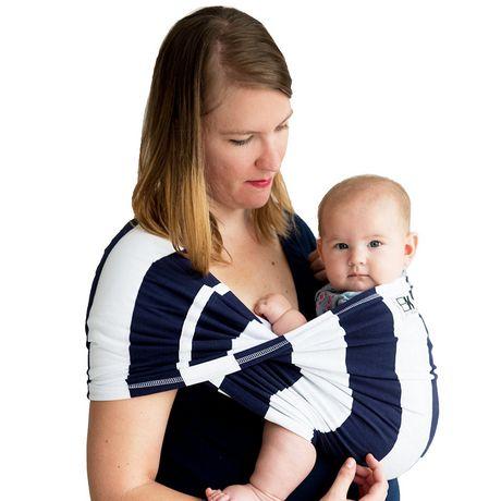 Baby K'Tan Navy Stripes - image 3 of 3
