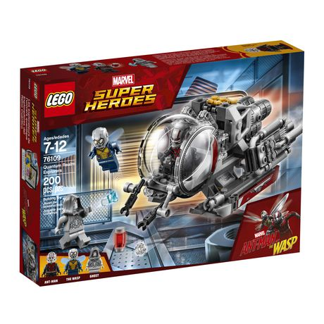LEGO Marvel Super Heroes Ant-Man and the Wasp movie: Quantum Realm Explorers 76109 Building Kit (200 Piece) - image 2 of 6