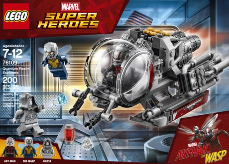 LEGO Marvel Super Heroes Ant-Man and the Wasp movie: Quantum Realm Explorers 76109 Building Kit (200 Piece) - image 5 of 6