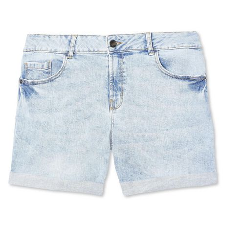 George Women's Cuffed Denim Short Blue 16