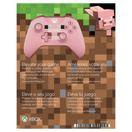 Xbox Wireless Controller – Minecraft Pig