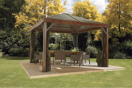 Sojag South Beach Wood Finish Sun Shelter - image 2 of 6