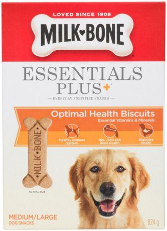 Milk-Bone Essentials Plus+ Medium/Large Dog Biscuits 624g - image 2 of 6