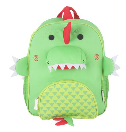 "Zoocchini Toddler Child Backpack 13"" Daycare School Bag Devin The Dinosaur - image 1 of 7"