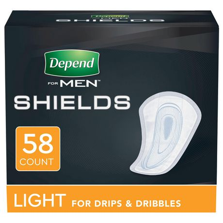 Depend Incontinence Shields for Men - image 1 of 5