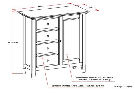 Halifax Medium Storage Cabinet - image 7 of 7