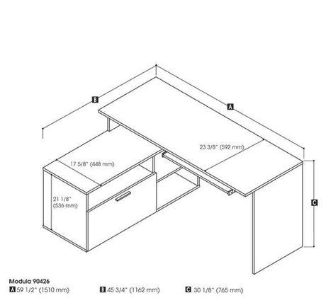 Bestar Modula Bureau en L - image 4 de 4