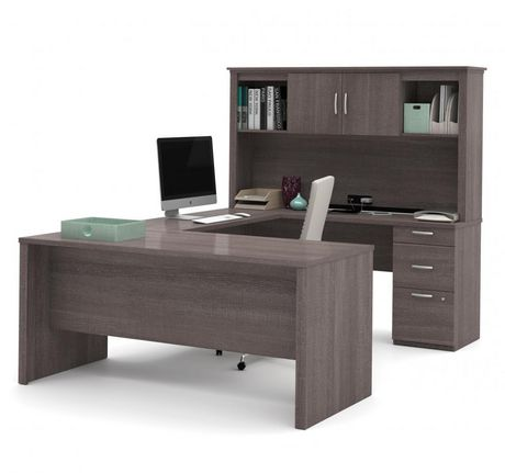 bestar logan u shaped desk walmart canada rh walmart ca bestar logan u shaped desk bestar u shaped desk assembly