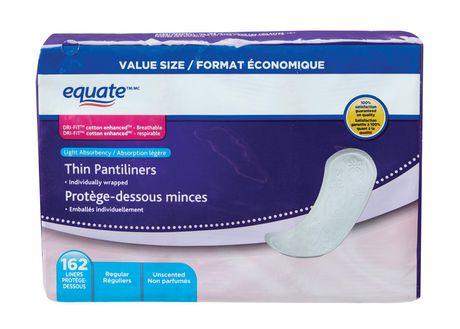 Equate Thin Pantiliner - image 1 of 4
