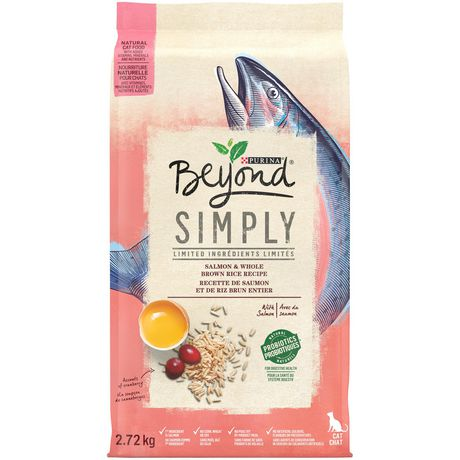 Purina Beyond Cat Food >> Beyond Simply Natural Dry Cat Food Salmon Whole Brown Rice