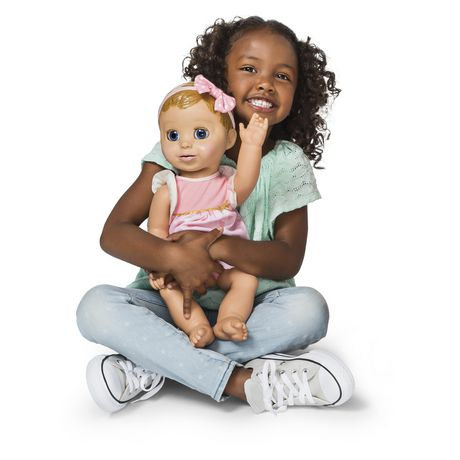 Luvabella - Blonde Hair - Responsive Baby Doll with Realistic Expressions And Movement - image 5 of 8