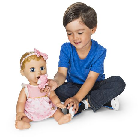 Luvabella - Blonde Hair - Responsive Baby Doll with Realistic Expressions And Movement - image 4 of 8