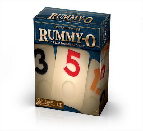 Cardinal Games Traditions - Rummy-O Fast-Paced Board Game - image 1 of 1