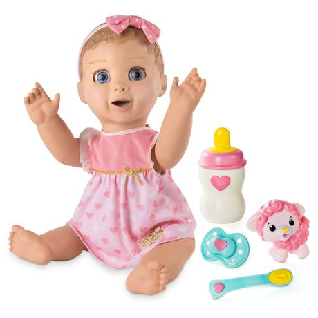 Luvabella - Blonde Hair - Responsive Baby Doll with Realistic Expressions And Movement - image 1 of 8