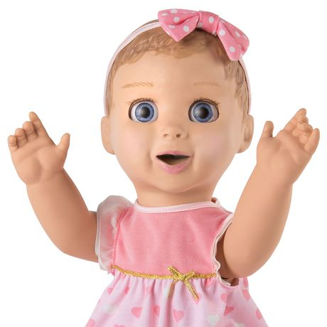 Luvabella - Blonde Hair - Responsive Baby Doll with Realistic Expressions And Movement - image 6 of 8