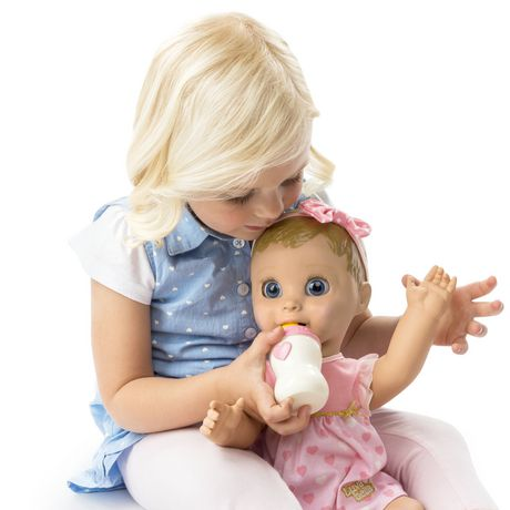 Luvabella - Blonde Hair - Responsive Baby Doll with Realistic Expressions And Movement - image 3 of 8