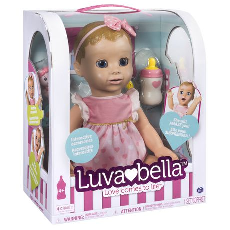 Luvabella - Blonde Hair - Responsive Baby Doll with Realistic Expressions And Movement - image 8 of 8