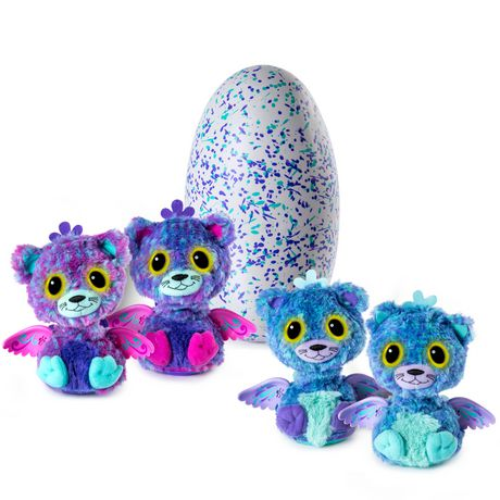 Hatchimals Surprise Peacat Hatching Egg With Surprise Twin Interactive Hatchimal Creatures By Spin Master Aa