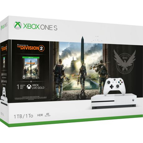 Xbox One S 1TB THE DIVISION 2 Bundle - image 1 of 2