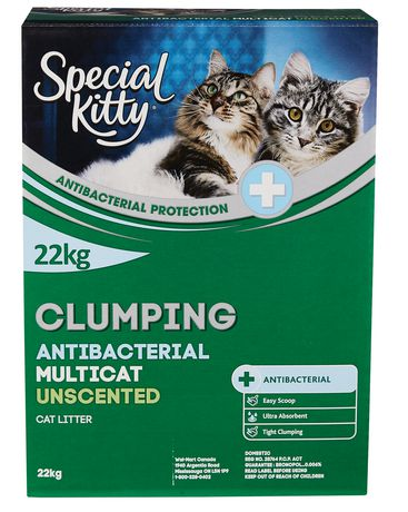 Special Kitty Clumping Antibacterial Multi-Cat Cat Litter - Unscented - image 1 of 2