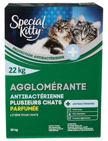 Special Kitty Clumping Antibacterial Multicat CAT Litter - Scented - image 2 of 2