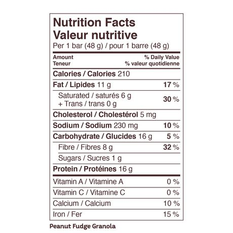 Atkins Peanut Fudge Granola Protein Bar - image 4 of 4