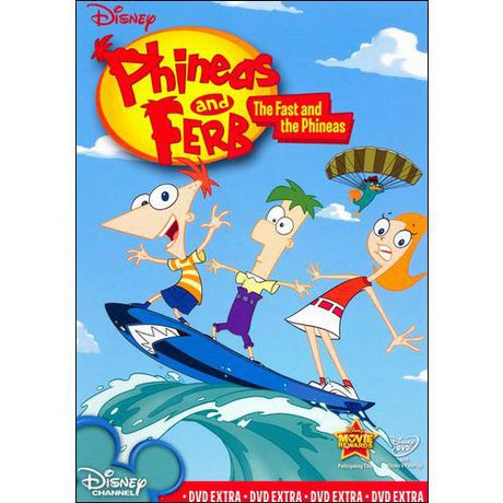 Phineas And Ferb The Fast And The Phineas Walmart Canada