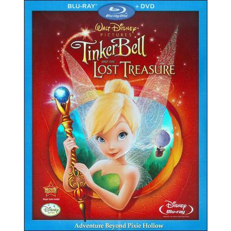 Tinker Bell And The Lost Treasure Blu Ray DVD