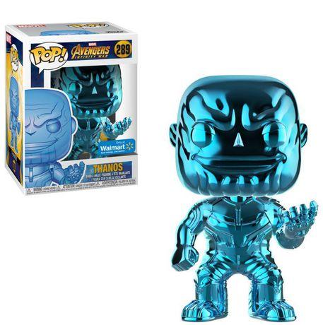 Funko POP! Marvel: Avengers Infinity War - Blue Thanos Chrome Vinyl Figure (Walmart Exclusive) - image 1 of 1